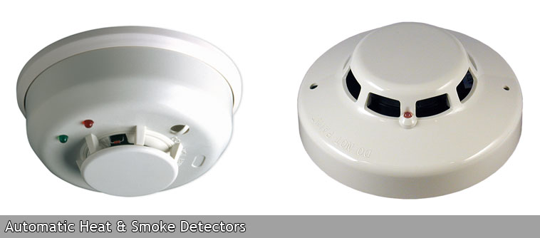 Automatic Heat & Smoke Detectors