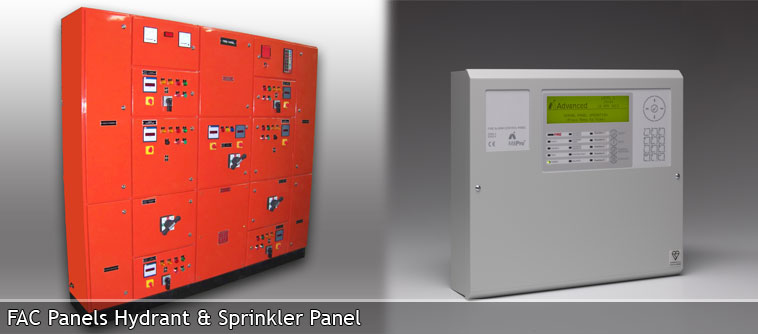 Fire Alarm Control Panels Hydrant & Sprinkler Panel